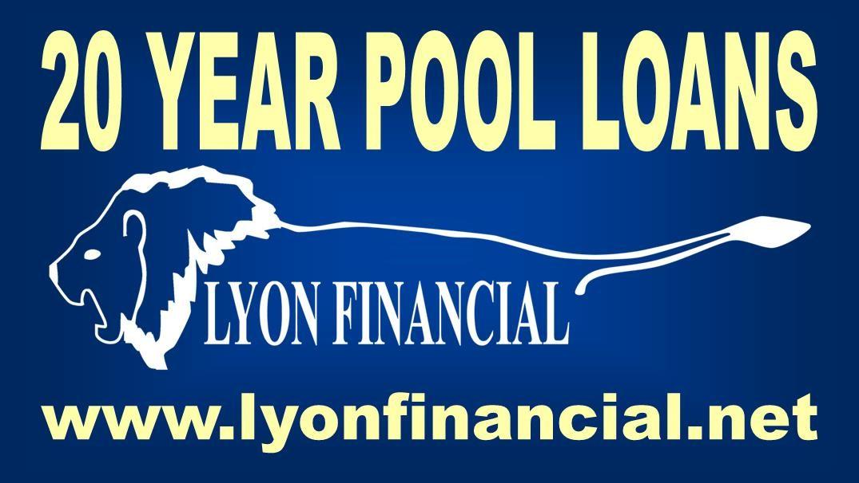 20 yr pool loan lighter